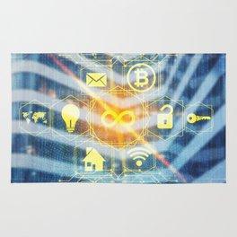 digital interface Rug