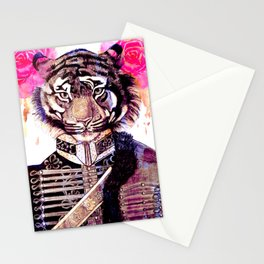 Tigre militar 2 Stationery Cards