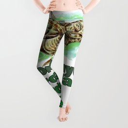 GREEN SEA TURTLE Leggings