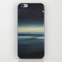 Currents - Abstract seascape iPhone Skin