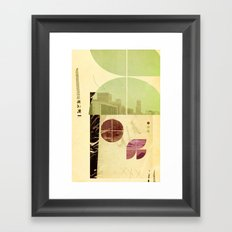 205 (Forensic Love Story) Framed Art Print