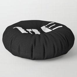 18E Special Forces Communications Floor Pillow