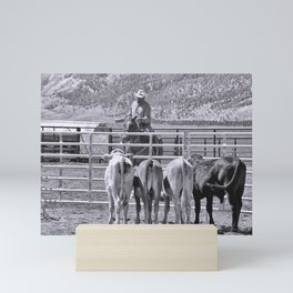 Rodeo Mini Art Print