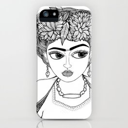 Ode to Frida iPhone Case