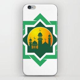 Symbol of Muslim iPhone Skin