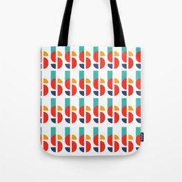 Bauhaus Kandinsky Geometry Typeface Tote Bag