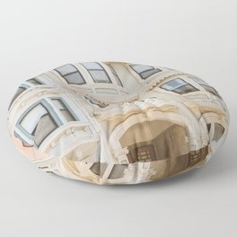 San Francisco Pastels Floor Pillow