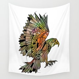 Kea New Zealand Bird Wall Tapestry