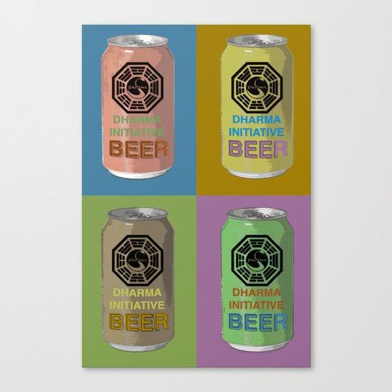 Lost Beer Canvas Print