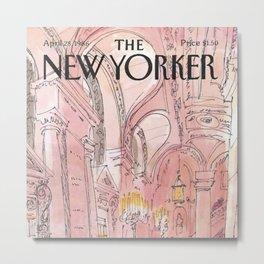 The New Yorker - 04/1986 Metal Print