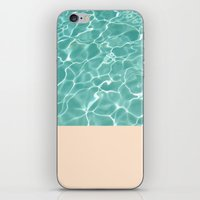 pool iPhone & iPod Skins featuring Pool by Grace