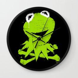 Pochoir - Kermit Wall Clock