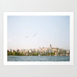 Istanbul Views Art Print