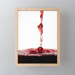 Red Wine Framed Mini Art Print