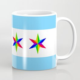 PRIDE Chicago Muni Flag Coffee Mug