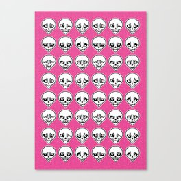 Skull Feels Canvas Print