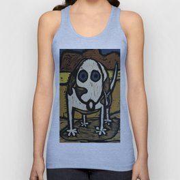 """Skippy visits Canyon lands Unisex Tank Top"