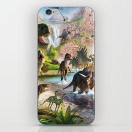 Jurassic dinosaur iPhone Skin