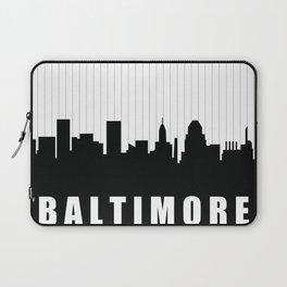 Baltimore Skyline Laptop Sleeve