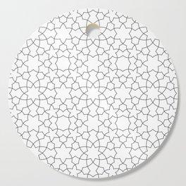Minimalist Geometric 101 Cutting Board