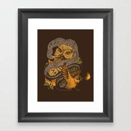 BIGMEAL Framed Art Print