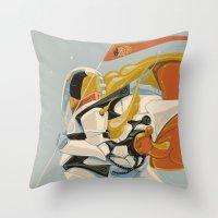 Cicada Squad Throw Pillow