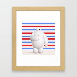 Baymax Big Hero 6 Framed Art Print