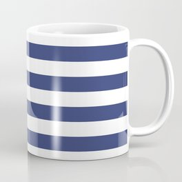 Sailor Blue Stripes Coffee Mug
