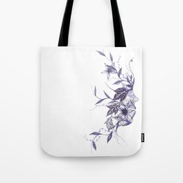 Face of Nature Tote Bag