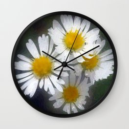 Floral Beauty #8 Wall Clock