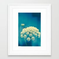 lace Framed Art Prints featuring Lace by Olivia Joy St.Claire - Modern Nature / T