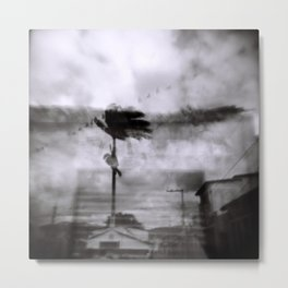 Bahian Palm Metal Print