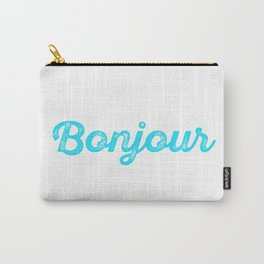 Bonjour! Carry-All Pouch