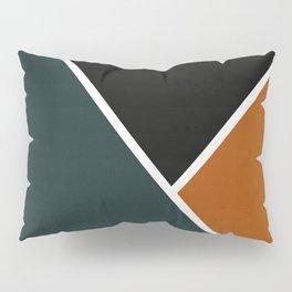 Noir Series - Forest & Orange Pillow Sham