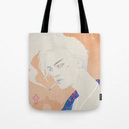 I Defy You Stars Tote Bag