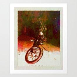 FLATHEAD - 043 Art Print
