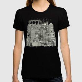 dystopian toile mono T-shirt