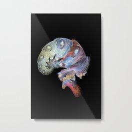 Artist's brain Metal Print