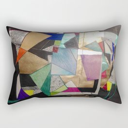 Lost in The States of Mind Rectangular Pillow