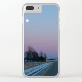 Nature's Rothko Clear iPhone Case