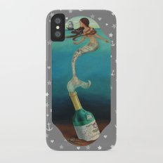Message in a Bottle Slim Case iPhone X