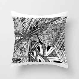 Geometrical abstraction Throw Pillow