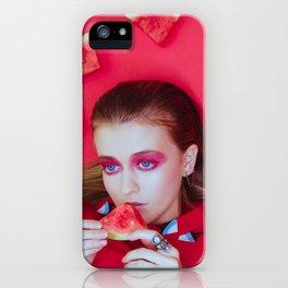 Watermelon Wishes - Savanna Copper iPhone Case