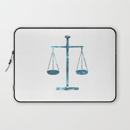 Scales of justice Laptop Sleeve