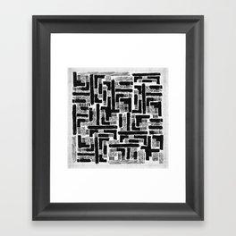 Cross Current Framed Art Print