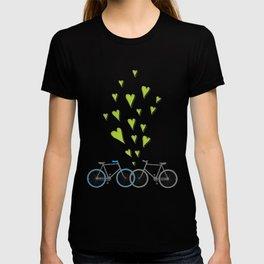 Raining Love over Bikes T-shirt