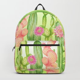 Cactus forest Backpack