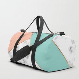 Marble Geometry 056 Duffle Bag