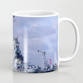 USS North Carolina BB-55 Coffee Mug