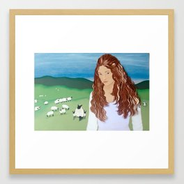 """We all, like sheep,..."" Framed Art Print"